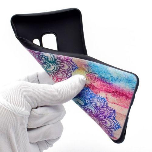 Etui Slim Art SAMSUNG S9 łapacz henna lotos