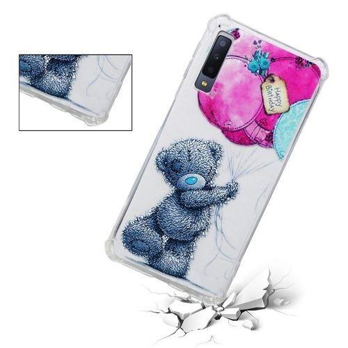 Etui Slim Art Samsung Galaxy A7 2018 A750 miś i balon