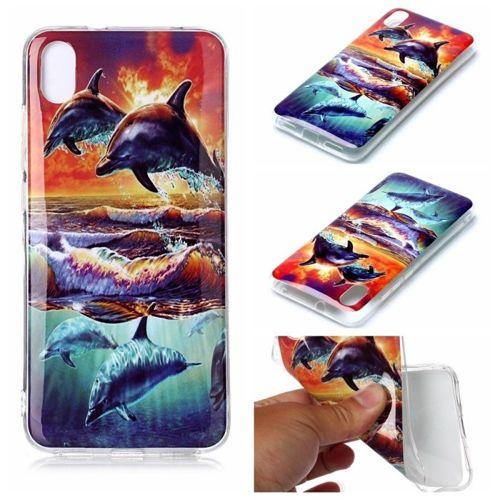 Etui Slim Case Art Wzory XIAOMI REDMI 7A delfin