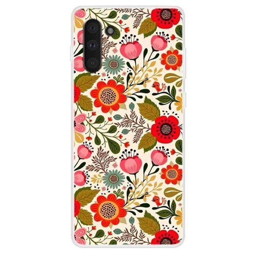 Etui Slim case Art Wzory SAMSUNG GALAXY NOTE 10 kwiaty vivid