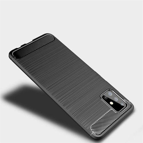 Etui TECH-PROTECT TPUCARBON Samsung Galaxy A51 BLACK