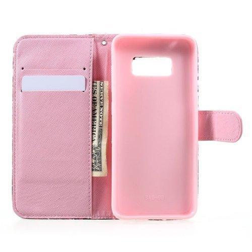 Etui Wallet Leather Samsung Galaxy S8 - kolor atramentu