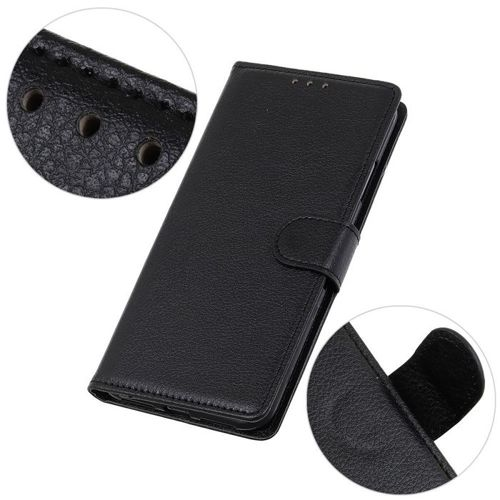 Etui XIAOMI MI NOTE 10 Skórzane z klapką portfel Flip Magnet czarne