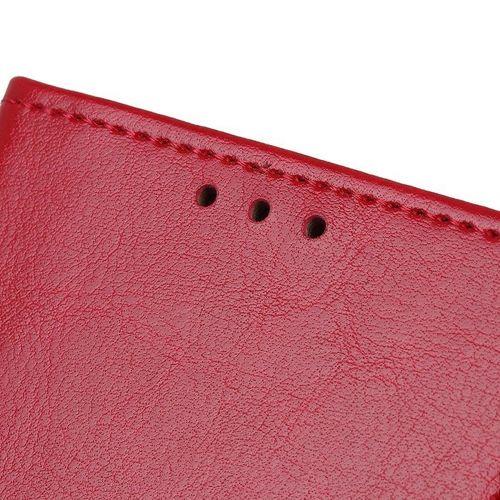 Etui XIAOMI REDMI NOTE 8T Skórzane z klapką portfel Flip Magnet czerwone