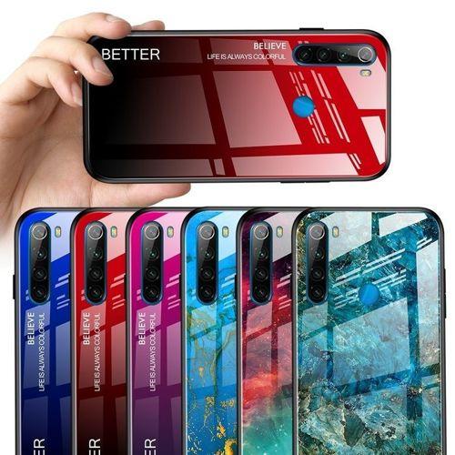 Etui XIAOMI REDMI NOTE 8T Szklane Glass case Gradient Color Nebula