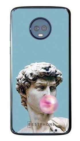 Etui dawid z gumą na Motorola Moto G6 Plus