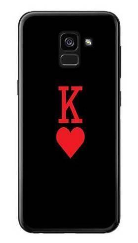Etui dla par King karta na Samsung Galaxy A7 2018