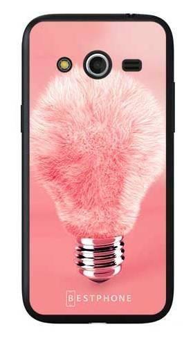 Etui futrzasta żarówka na Samsung Galaxy Core LTE