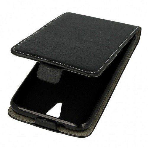 Etui kabura pionowa rubber LG Q7 czarne