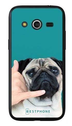 Etui mops call me na Samsung Galaxy Core LTE