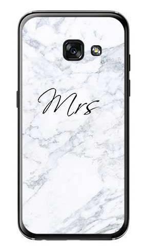 Etui na ślub mrs marmur na Samsung Galaxy A3 2017