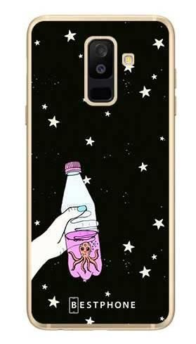 Etui ośmiornica w butece na Samsung Galaxy A6 Plus