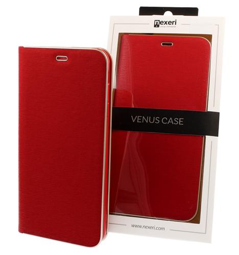 Etui portfel Nexeri Venus HUAWEI Y5 2018 czerwone