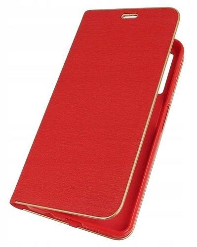 Etui portfel Nexeri Venus SAMSUNG GALAXY A70 czerwone