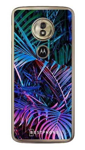 Etui tropikalne fluo na Motorola Moto G6 Play