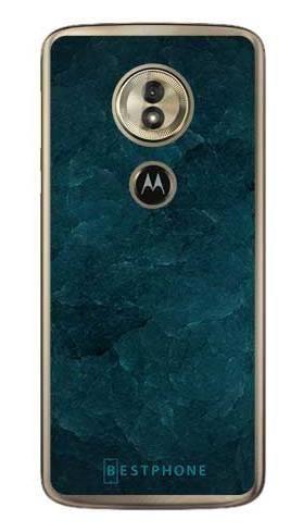 Etui turkusowy kamień na Motorola Moto G6 Play