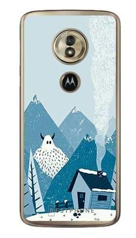 Etui yeti i góry na Motorola Moto G6 Play