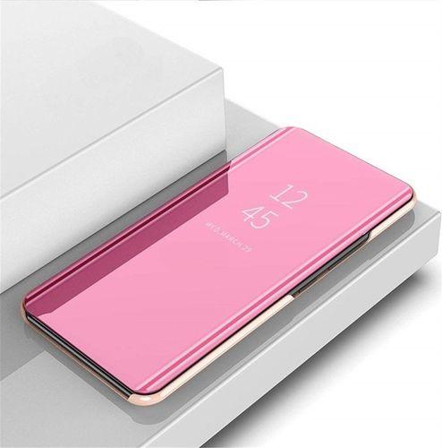 Etui z klapką Clear View Cover SAMSUNG GALAXY A10 różowe