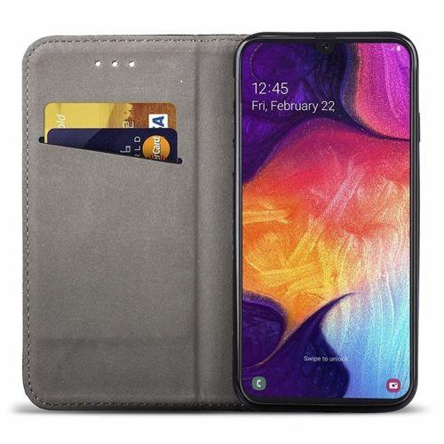 Etui z klapką portfel Flip Magnet LG K20 2019 czarne