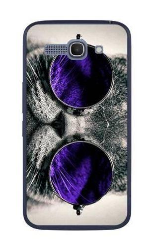 FANCY Alcatel Pop C9 kot w okularach