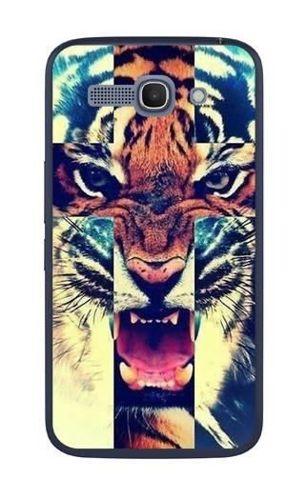 FANCY Alcatel Pop C9 tygrys krzyż