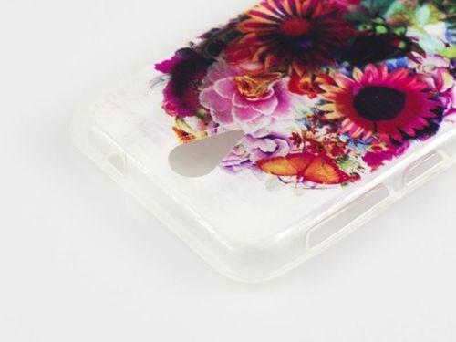 FANCY Samsung GALAXY TREND 2 LITE czaszka kwiaty