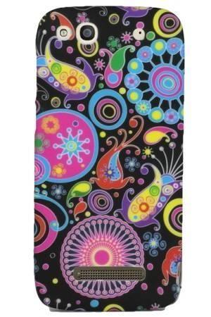 FLOWER Alcatel IDOL ALPHA kolorowy wzór meduza