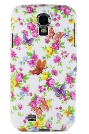 FLOWER Samsung GALAXY S4 kwiatuszki i motylki