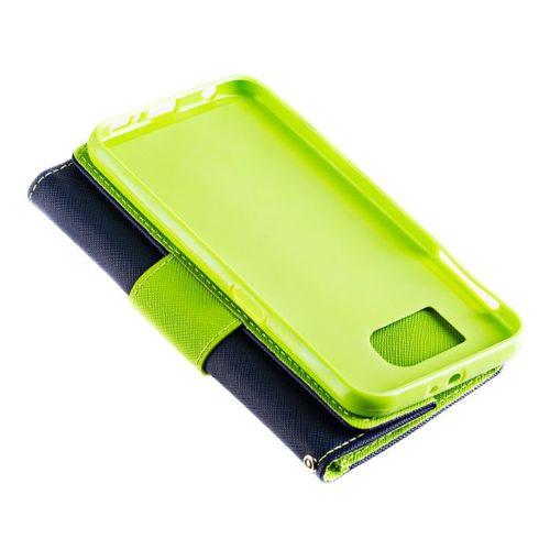 Fancy Case etui pokrowiec z funkcją podstawki Sony Xperia XA2 granatowy