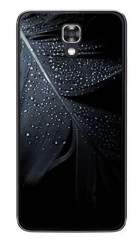 Foto Case LG X SCREEN czarne pióro