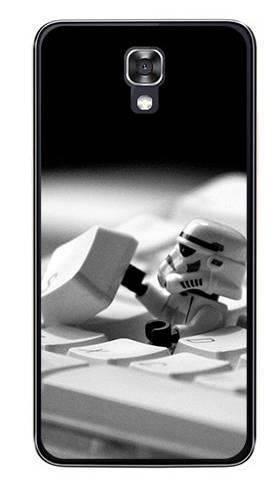 Foto Case LG X SCREEN klawiatura storm trooper