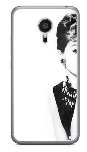 Foto Case Meizu MX5 audrey hepburn