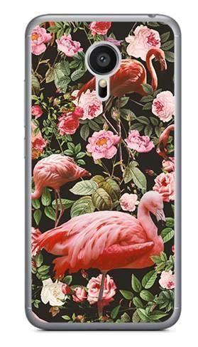 Foto Case Meizu MX5 tropikalne flamingi