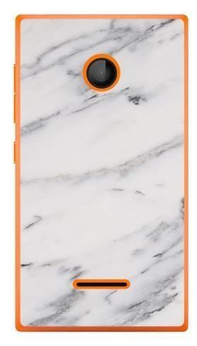 Foto Case Microsoft Lumia 435 szary marmur