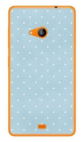 Foto Case Microsoft Lumia 535 miętowe kropeczki
