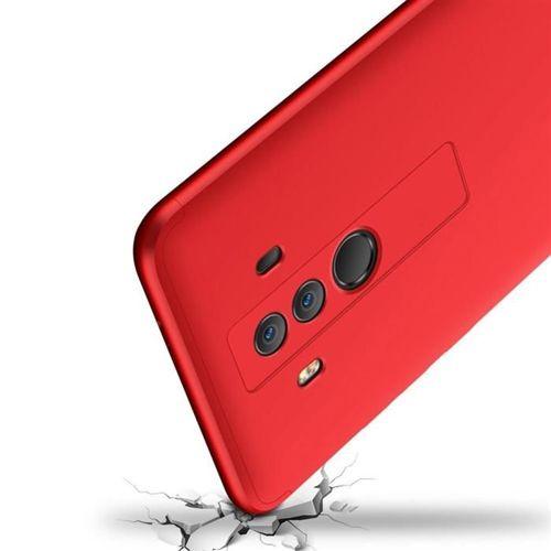 GKK 360 Protection Case etui na całą obudowę przód + tył Huawei Mate 10 Pro czerwony