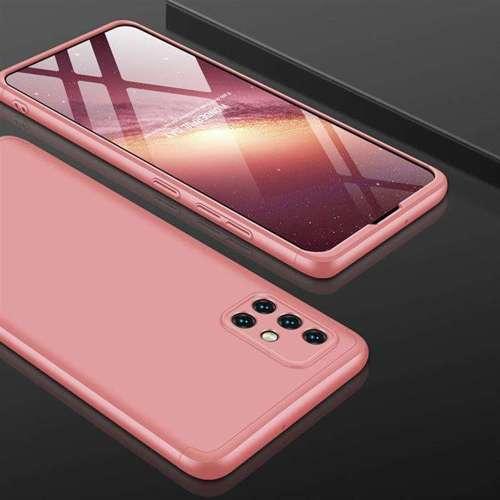 GKK 360 Protection Case etui na całą obudowę przód + tył Samsung Galaxy A51 różowy