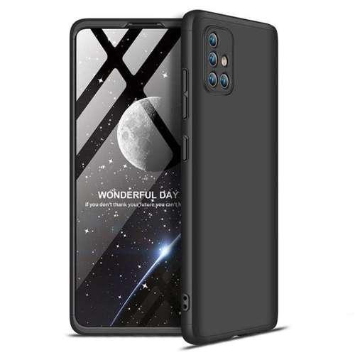 GKK 360 Protection Case etui na całą obudowę przód + tył Samsung Galaxy A71 czarny