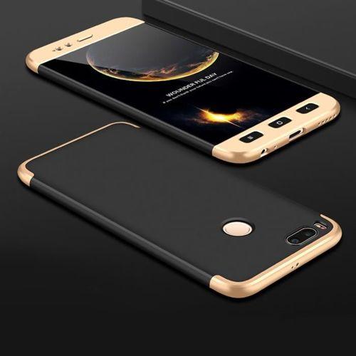 GKK 360 Protection Case etui na całą obudowę przód + tył Xiaomi Mi A1 / Mi 5X czarno-złoty