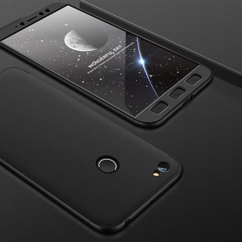 GKK 360 Protection Case etui na całą obudowę przód + tył Xiaomi Redmi Note 5A Prime czarny
