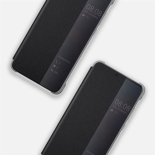 Huawei Smart View Flip Cover pokrowiec etui z klapką typu Smart Huawei P20 Lite czarny