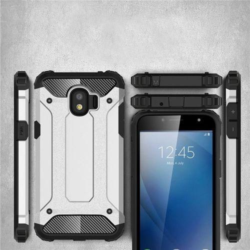 Hybrid Armor pancerne hybrydowe etui pokrowiec Samsung Galaxy J2 Pro J210 czarny