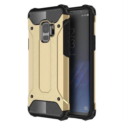 Hybrid Armor pancerne hybrydowe etui pokrowiec Samsung Galaxy S9 G960 złoty