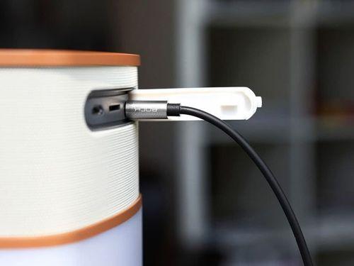 Kabel Audio 3.5mm minijack 1m ROCK szary