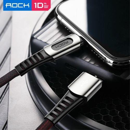 Kabel USB do USB Typ C 1m ROCK M8 ZN-ALLOY czarny