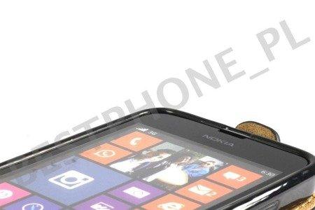 Kabura FLEXI HTC Desire 626 czerwony