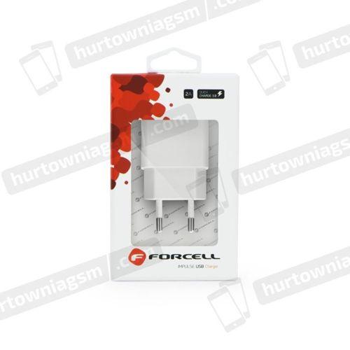 ŁADOWARKA FORCELL SIEĆ 1 x USB 2,4 QUICK CHARGE 3.0