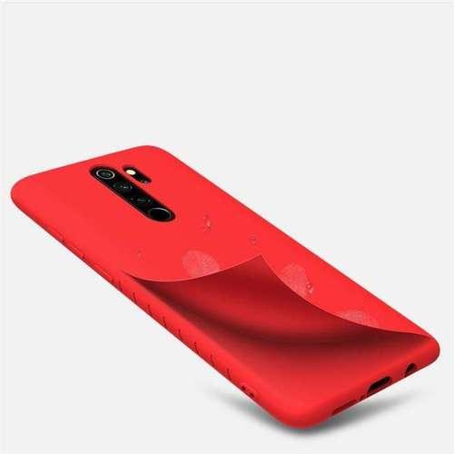 Nillkin Rubber elastyczne silikonowe etui pokrowiec Xiaomi Redmi Note 8 Pro czarny