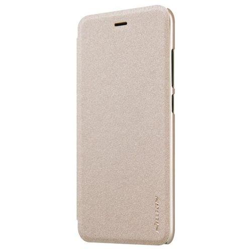 Nillkin Sparkle skórzany pokrowiec futerał Xiaomi Mi6 złoty