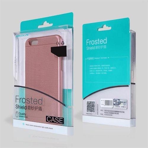 Nillkin Super Frosted Shield wzmocnione etui pokrowiec + folia Samsung Galaxy S9 G960 różowy